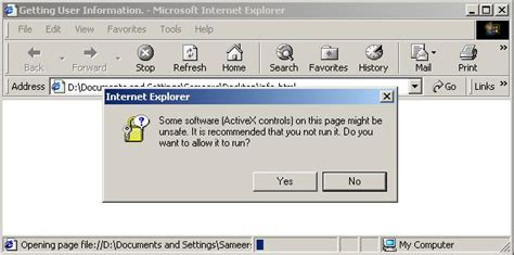 Vbscript On Error Resume Next Err Number by Getting User Information Using Wsh And Vbscript Codeproject