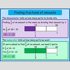 Finding 13 And 23 Using The Bar Model  Norledgemaths  6th Grade Math  Fractions, Math