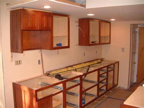 how to hang cabinets springfield kitchen cabinet install remodeling designs