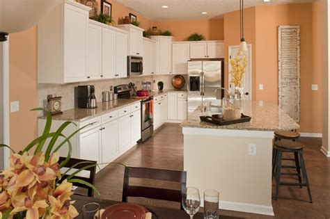 Kitchen In The Twin Oaks Model Love The White Cabinets