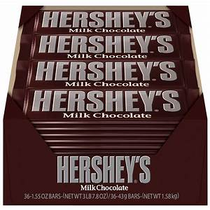 HERSHEY'S Milk Chocolate Bars - 36-ct. Box | Hersheys Store