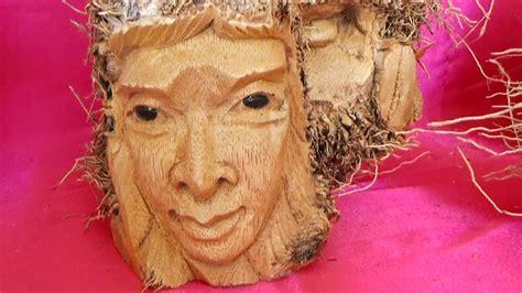 kerajinan tangan patung orang tua dari akar bambu tua kintamani bangli youtube