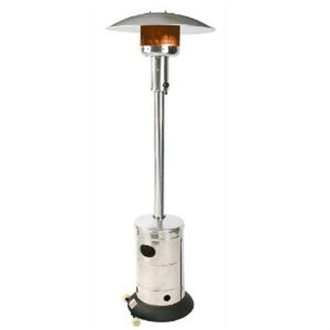 outdoor leisure propane patio radiant heater stainless