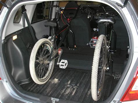 The bike racks using a hitch is not a big deal. The Ultimate Honda Fit Bike Rack - Unofficial Honda FIT Forums