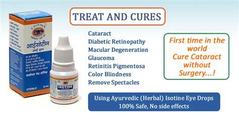 3x Isotine Eye Drop Blindness, Cataract, Myopia, Glaucoma