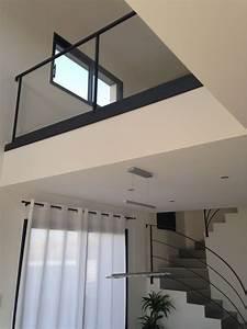 Vide Maison 72 : gardes corps du vide sur s jour pos s stairs living ~ Dode.kayakingforconservation.com Idées de Décoration