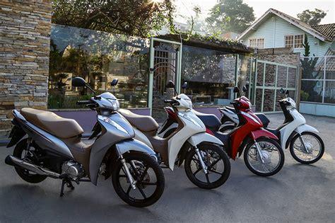 Honda Biz 2019 by Biz 2019 Chega Novas Cores E Parte De R 7 750 Motonline