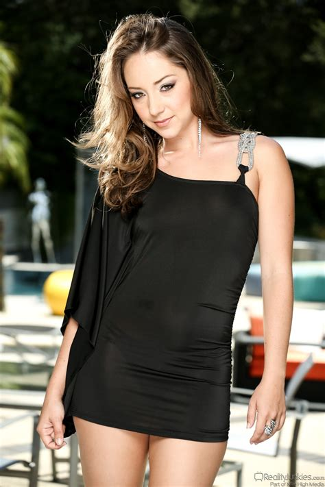 Beauty In Black Dress Persuaded To Take It Off Just Like