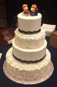 4 Tier Wedding Cake 14 10 8 6 Chocolate With Cookies N ...