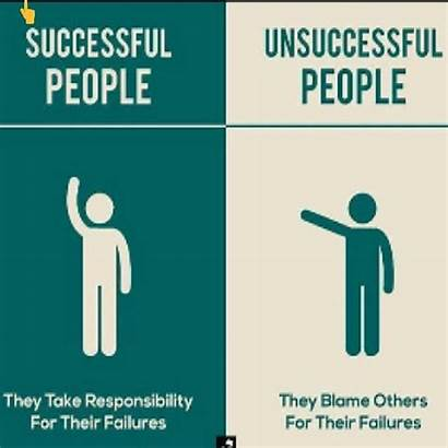 Successful Responsibility Unsuccessful Take Quotes Others Blaming