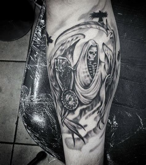 grim reaper tattoos  men merchant  death designs