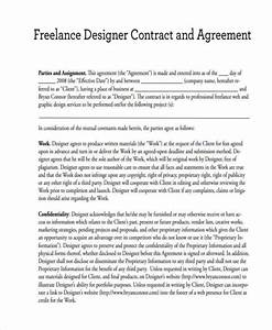 15 freelance contract templates free documents in word With freelance employment contract template