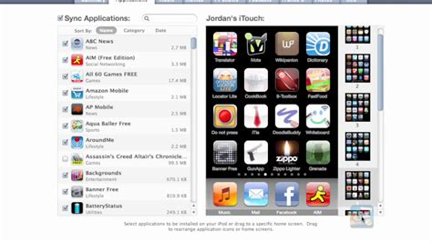 organize iphone photos how to organize iphone apps in itunes 9 part 1