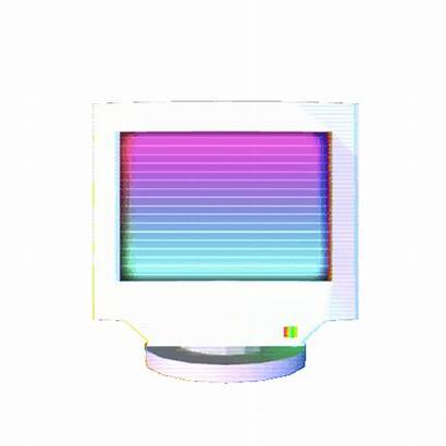 Computer Transparent Gifs Monitor Computers Animated Retro