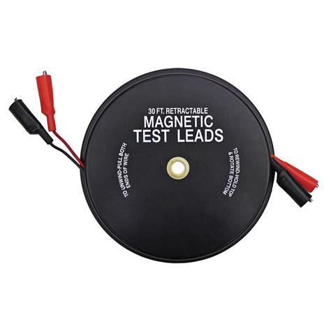 Kastar 1138 2 x 30' Magnetic Retractable Test Leads KAS1138