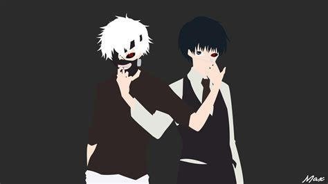 Minimal Anime Wallpaper - ken kaneki tokyo ghoul minimal wallpaper by max028 on