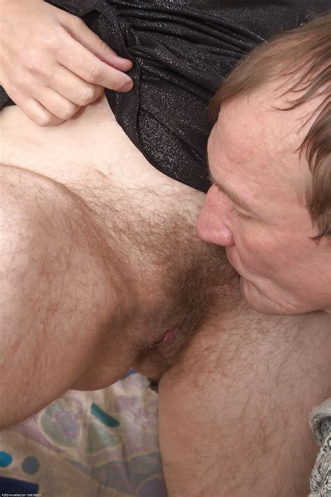 Old Granny Olga Sucks A Big Cock And Then Gets Her Hairy