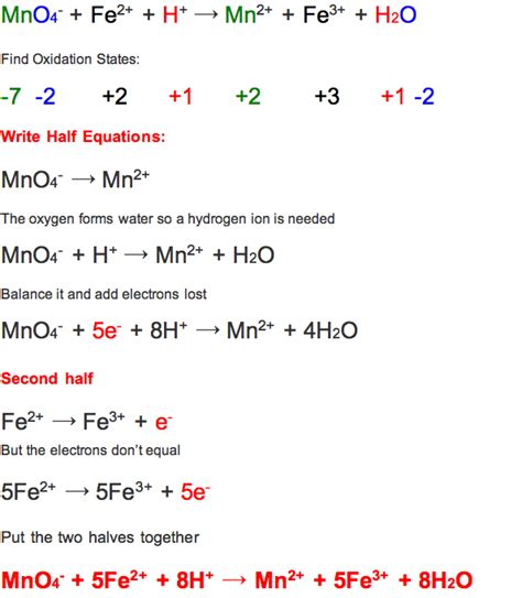 Oxidation Reduction Reactions Worksheet Worksheets For All  Download And Share Worksheets