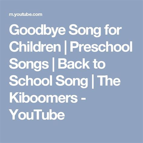 25 best ideas about goodbye song for on 403 | 19f71ef535ef757a92ef6b57378795c7