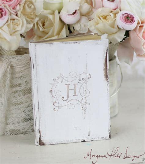 shabby chic wedding shower decor morgann hill designs bridal shower rustic guest book shabby chic wedding decor personalized