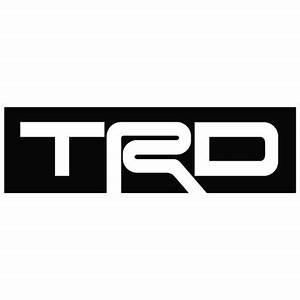 Toyota - TRD Logo (Box) - Outlaw Custom Designs, LLC