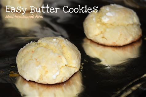easy cake mix butter cookies yellow cake mix cream