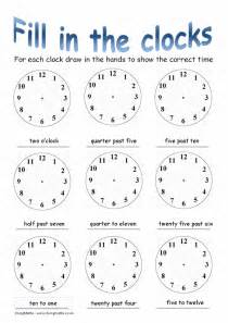 Telling Time Worksheets Free