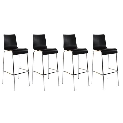 chaise de bar 4 pieds tabouret de bar avec 4 pieds design en image
