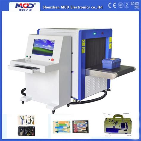 X-ray Machine at Airport Security