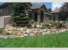 Retaining Wall Design Colorado Springs Accent Landscapes