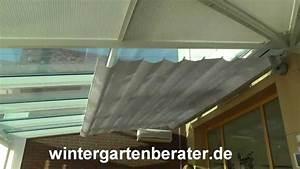 Beschattung Wintergarten Innen Selber Machen : wintergarten tipp sonnenschutz beschattung f r ~ Michelbontemps.com Haus und Dekorationen