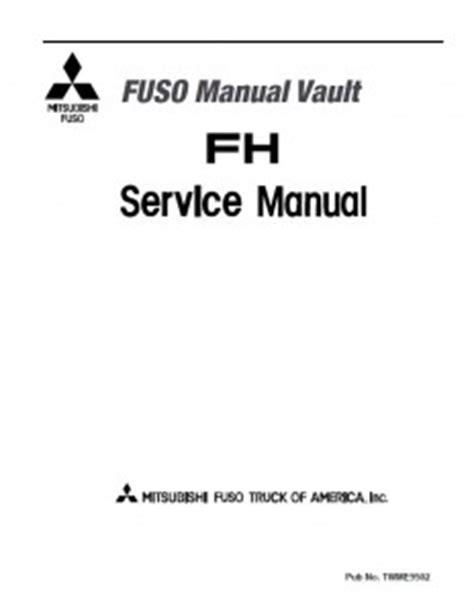 Mitsubishi Fuso Truck Service Manual Pdf