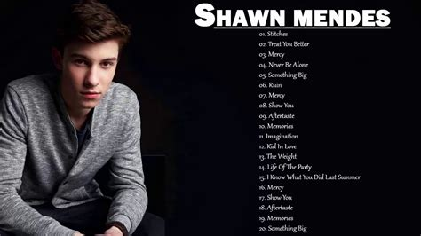Shawn Mendes Greatest Hits Full Album Cover 2018 / Best