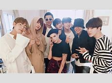 BTS hang out with new BFFs Halsey and Steve Aoki SBS PopAsia