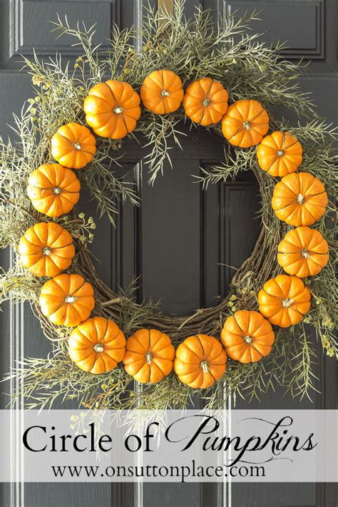 easy diy thanksgiving door decorations