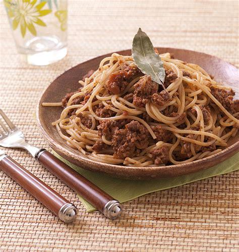 pate a la bolognaise recette spaghetti 224 la sauce bolognaise express recettes italiennes italie les meilleures recettes