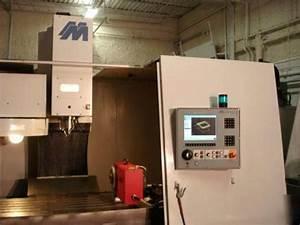 Milltronics Vm25 Cnc Vertical Machining Center Haas 4th