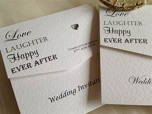 love laughter tri fold wedding invitations gbp150 invites With wedding invitation printing places