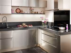 inox cuisine une cuisine tout en inox maisonapart