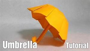 Paper Umbrella - Origami Umbrella tutorial (Henry Phạm