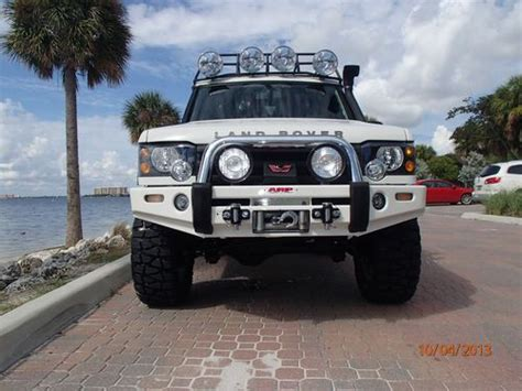 airbag deployment 1988 land rover range rover transmission control sell used 2004 landrover discoveryii 4 6l manual transmission one of a kind vehicle in miami