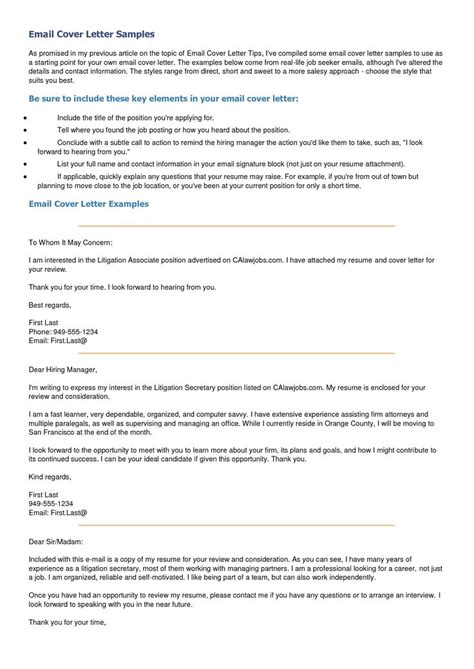 Email As Cover Letter by Best 25 Resignation Email Sle Ideas On