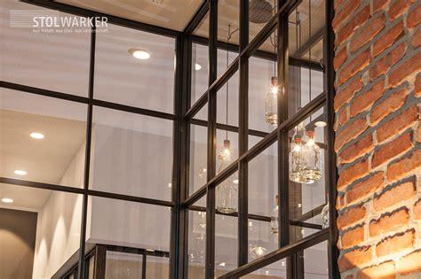 Trennwand Mit Glas by Stahl Glas Trennw 228 Nde Raumteiler