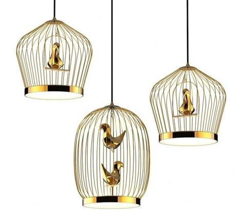 bird cage inspired lighting tweetie pendant l