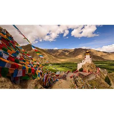 Yungbulakang Palace in the Tibet Autonomous Region of