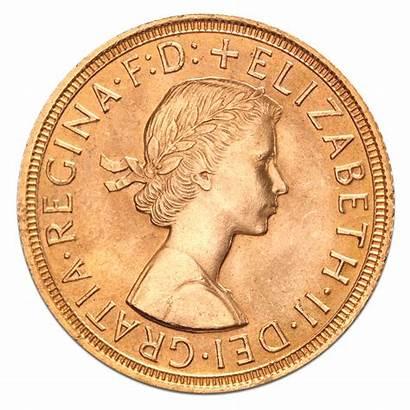 Sovereign Gold Elizabeth British Queen Ii Coin