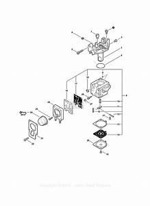 Echo Srm-225i S  N  S08712001001 - S08712999999 Parts Diagram For Carburetor