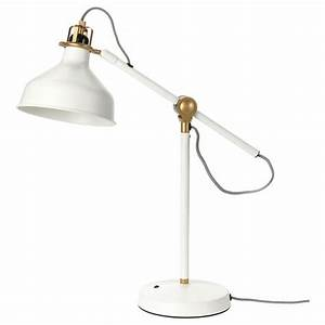 lighting lamps led lighting lamps ikea With ranarp white floor lamp