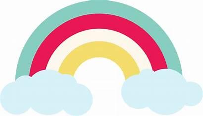Rainbow Svg Cut Stencil