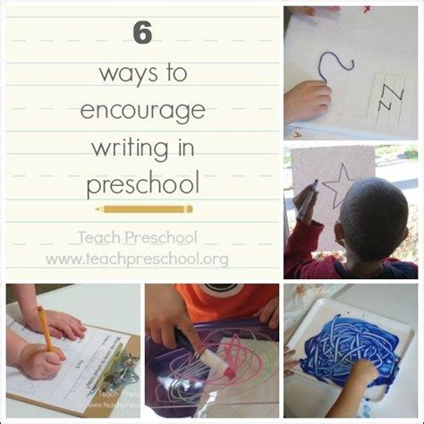 6 ways to encourage writing in preschool teach preschool 235 | 6 ways to encourage writing in preschool
